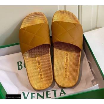 Bottega Veneta The SLIDER Rubber Slides Sandals Brown 2021 (modeng-21030204)