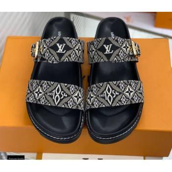 Louis Vuitton Paseo Flat Comfort Mules Since 1854 01 2021 (modeng-21030474)