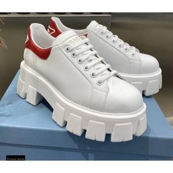 Prada Platform Logo Gabardine Sneakers 01 2021 (modeng-21030401)