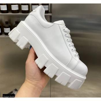 Prada Platform Logo Gabardine Sneakers 03 2021 (modeng-21030403)