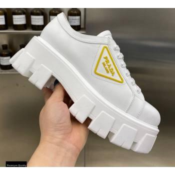 Prada Platform Logo Gabardine Sneakers 04 2021 (modeng-21030404)