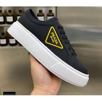 Prada Logo Gabardine Sneakers 02 2021 (modeng-21030408)