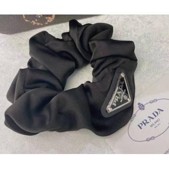 Prada Re-Nylon Scrunchie Hair Accessory Black 2021 (YF-210304d54)