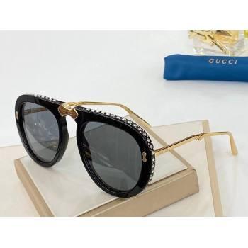 gucci sunglasses with diamonds 2021 (shishang-210127)
