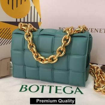 Bottega Veneta THE CHAIN CASSETTE shoulder bag Blue Jean 2020 (wante-5267)