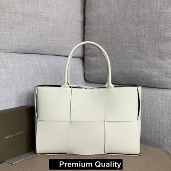 Bottega Veneta calfskin ARCO TOTE bag white 2020 (wante-2597)