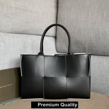 Bottega Veneta calfskin ARCO TOTE bag black 2020 (wante-6517)