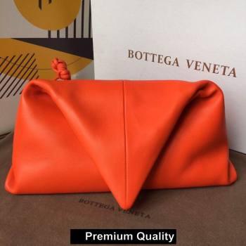 Bottega Veneta Angular clutch bag with triangular fold red 2020 (wante-4738)