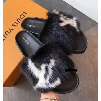 Louis Vuitton Digital Exclusive Bom Dia Mule 1A4G98 Black (EM-8082156)