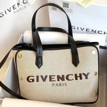 Givenchy Mini Bond White Canvas Tote bag Black 2021 (YS-21091323)