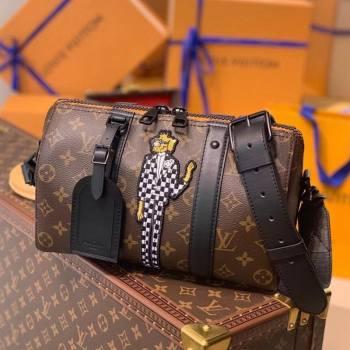 Louis Vuitton Zoom with Friends City Keepall Bag M45652 2021 (KI-21031736)