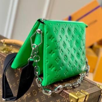 Louis Vuitton Coussin PM Bag in Monogram Leather M57936 Green 2021 (KI-21031739)