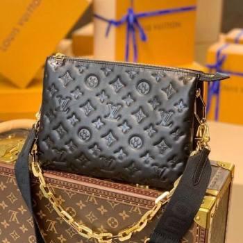 Louis Vuitton Coussin PM Bag in Monogram Leather M57790 Black 2021 (KI-21031743)