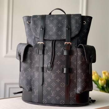 Louis Vuitton Mens Christopher PM Backpack in Black Monogram Canvas M41379 2021 (KI-21031750)
