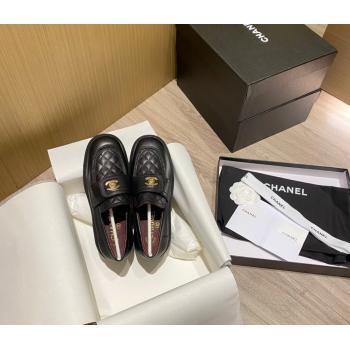 Chanel Lambskin Loafers G38147 White 2021 (KL-21081657)