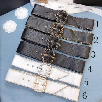 Chanel Lambskin Belt 50mm with Framed Buckle 2020 (99-20111801)