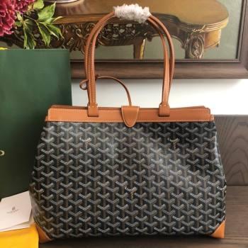 Goyard Bellechasse Biaude Tote Bag PM Tan Brown 2021 (LMGY-21091420)