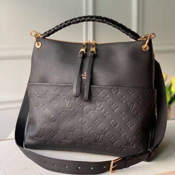 Louis Vuitton Maida Hobo Bag in Black Monogram Leather M45522 2020 (KI-20112427)