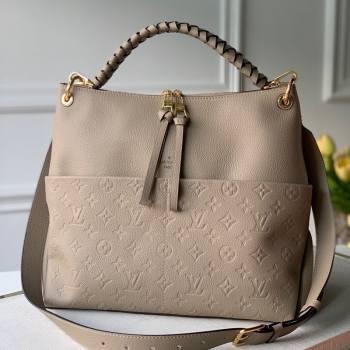 Louis Vuitton Maida Hobo Bag in Beige Monogram Leather M45522 2020 (KI-20112428)