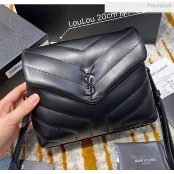 "Saint Laurent LOULOU TOY Bag IN MATELASSÉ ""Y"" Leather 467072 Black 2020(Top Quality) (JD-20051314)"