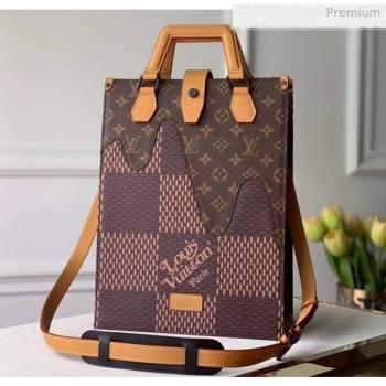 Louis Vuitton x Nigo Damier Monogram Canvas Tote Bag M49981 2020 (K-20051329)