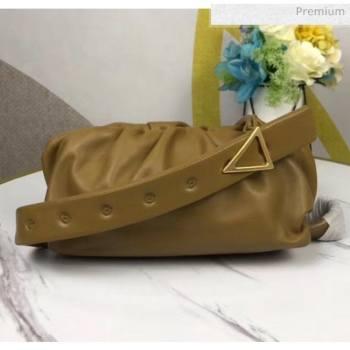 Bottega Veneta Nappa Leather The Body Pouch Mustard 2020 (MS-20060442)