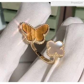 Van Cleef Arpels Butterfly Ring 08 2020 (XLD-20061108)