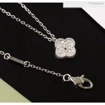 Van Cleef Arpels Crystal Necklace 206125 Silver 2020 (GDS-20061205)