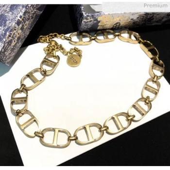 Dior CD Short Necklace 2061228 2020 (YF-20061228)