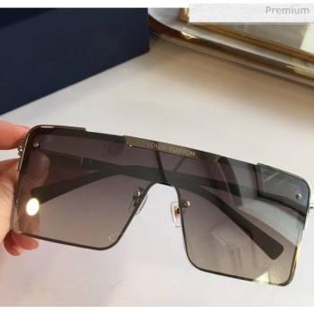 Louis Vuitton Square Sunglasses Z9808 Grey 2020 (A-20061313)