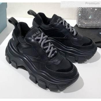 Prada Block Sneakers Black 2020 (MD-20061514)