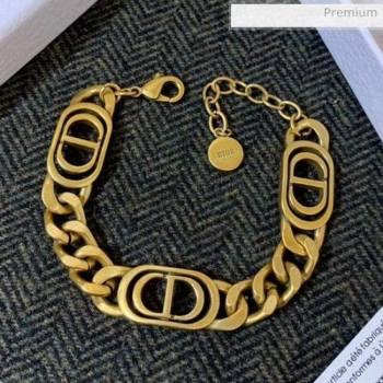 Dior Vintage Brass CD Bracelet 2020 (YF-20062911)