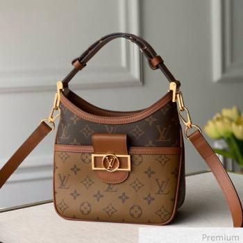 Louis Vuitton Hobo Dauphine BB Shoulder Bag M45196 Monogram Canvas/Brown 2020 (KI-20063021)
