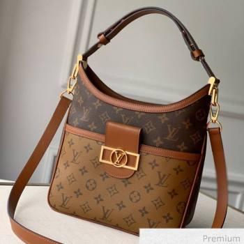 Louis Vuitton Hobo Dauphine PM Shoulder Bag M45194 Monogram Canvas/Brown 2020 (KI-20063019)