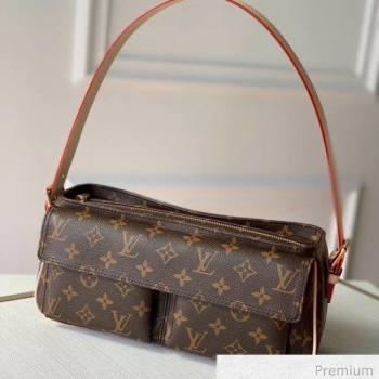 Louis Vuitton Vintage Monogram Canvas Small Shoulder Bag 2020 (KI-20063025)