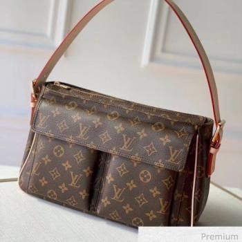 Louis Vuitton Vintage Monogram Canvas Large Shoulder Bag M51160 2020 (KI-20063026)