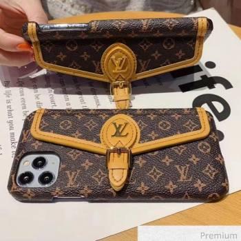 Louis Vuitton Monogram Canvas iPhone Clutch/Crossbody Bag 02 2020 (SJK-20070802)