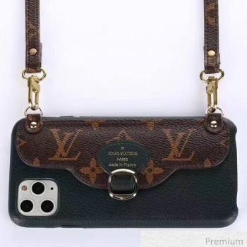 Louis Vuitton Monogram Canvas iPhone Clutch/Crossbody Bag Navy Blue 05 2020 (SJK-20070805)