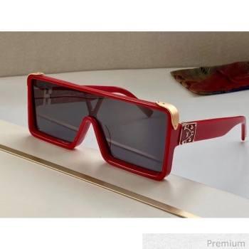 Louis Vuitton Dayton Square Mask Sunglasses 01 2020 (A0-20070810)