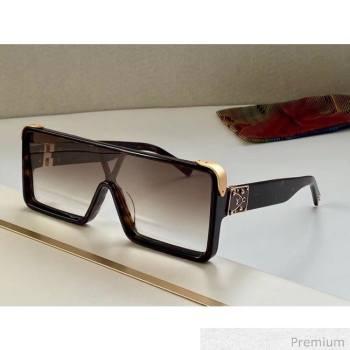 Louis Vuitton Dayton Square Mask Sunglasses 08 2020 (A0-20070817)