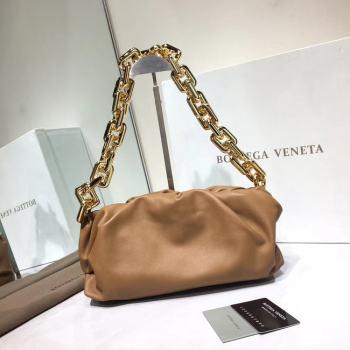 Bottega Veneta Nappa lambskin soft Shoulder Bag 620230 brown