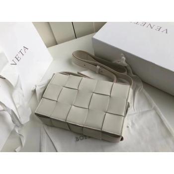 Bottega Veneta Sheepskin Weaving Original Leather 578004 Off White