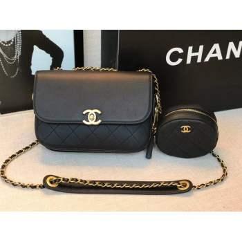 Chanel Original Leather Bag C5787 Black