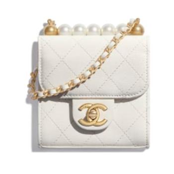 Chanel flap bag AP0997 white