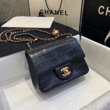 Chanel mini flap bag AS1787 black
