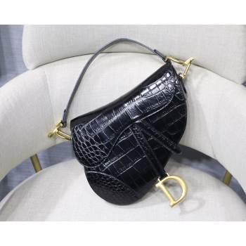 Dior SADDLE SOFT CALFSKIN BAG C9045 black