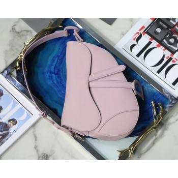 Dior SADDLE-TAS VAN KALFSLEER M0446C pink