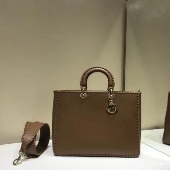 Dior SOFT CALFSKIN BAG C9255 Brown