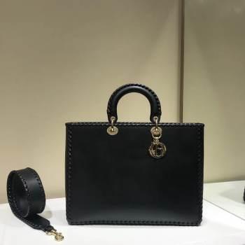 Dior SOFT CALFSKIN BAG C9255 black