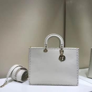 Dior SOFT CALFSKIN BAG C9255 white
